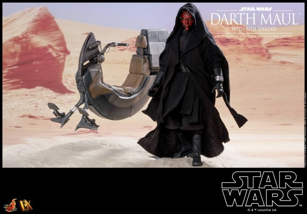 Hot Toys - Darth Maul mit Sith Speeder - Star Wars - DX17