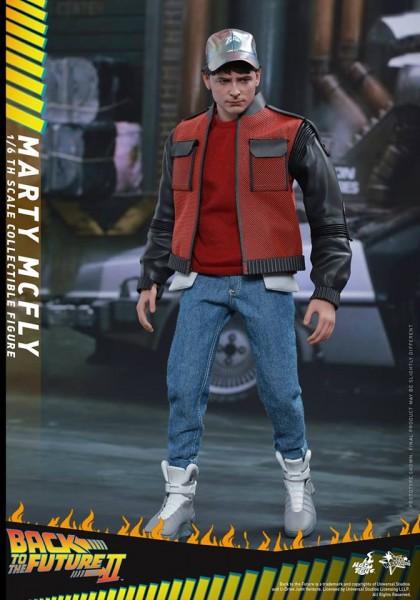 Hot Toys - Marty McFly- Zurück in die Zukunft II- 1/6