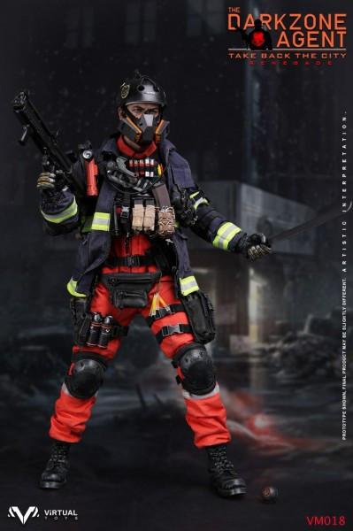 Virtual Toys - Darkzone Agent - Take back the city - Renegade