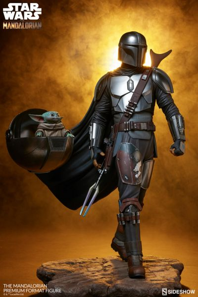 Sideshow Collectibles - The Mandalorian - Premium Format Statue