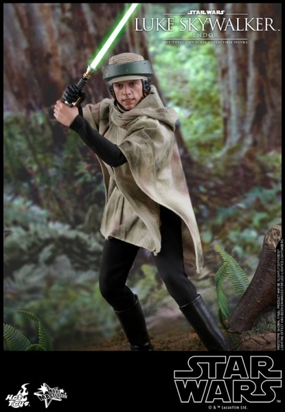 Hot Toys - Luke Skywalker - Endor Version - Star Wars - Die Rückkehr der Jedi-Ritter