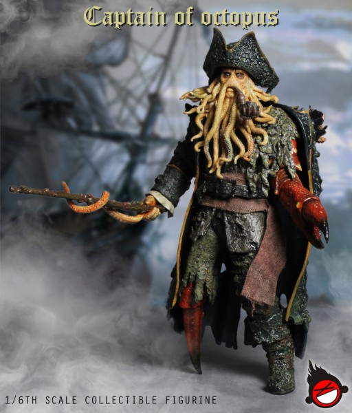 XDToys - Captain of octopus - Pirate Captain