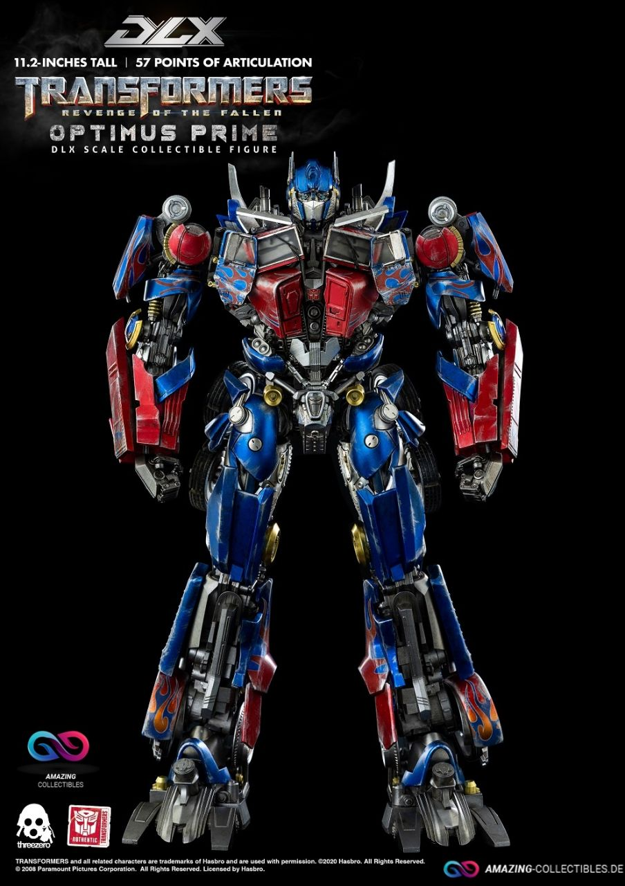 ThreeZero - Optimus Prime - DLX Scale - Transformers: Revenge of the fallen