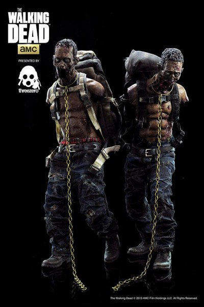 ThreeZero - Michonnes Pets - Doppelpack - Walking Dead