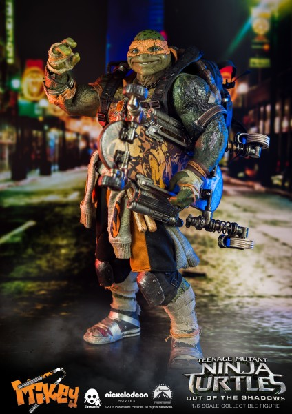 ThreeZero - Michelangelo - Teenage Mutant Ninja Turtles - Out of the Shadows