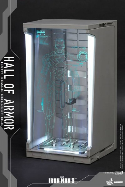 Hot Toys - Hall of Armor - Iron Man 3 - Single Version
