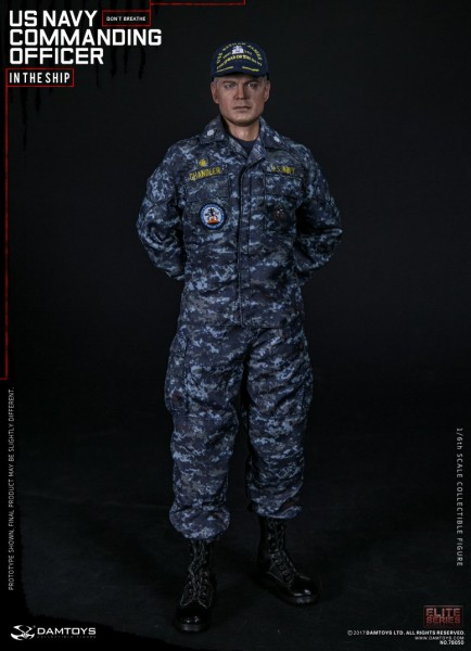 Damtoys - U.S Navy Commanding Officer - In the Ship