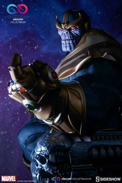 Sideshow - Thanos on Throne - Maquette