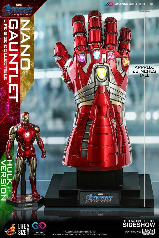 Hot Toys - Gauntlet - Life Size - Hulk Version - Avengers: Endgame