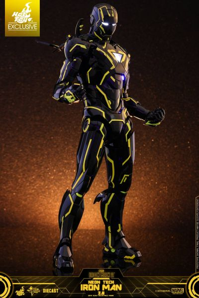 Hot Toys - Iron Man - Neon Tech 2.0 - Diecast - Exclusive
