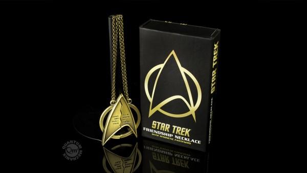 Quantum Mechanix - Star Trek Freundschafts Kette - Friendship Necklace