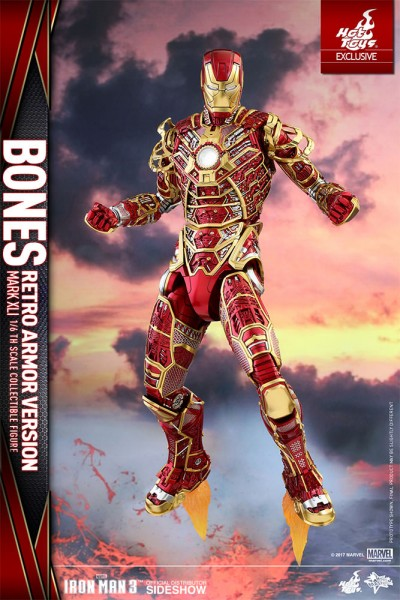 Hot Toys - Iron Man Bones Mark XLI - Retro Armor Version