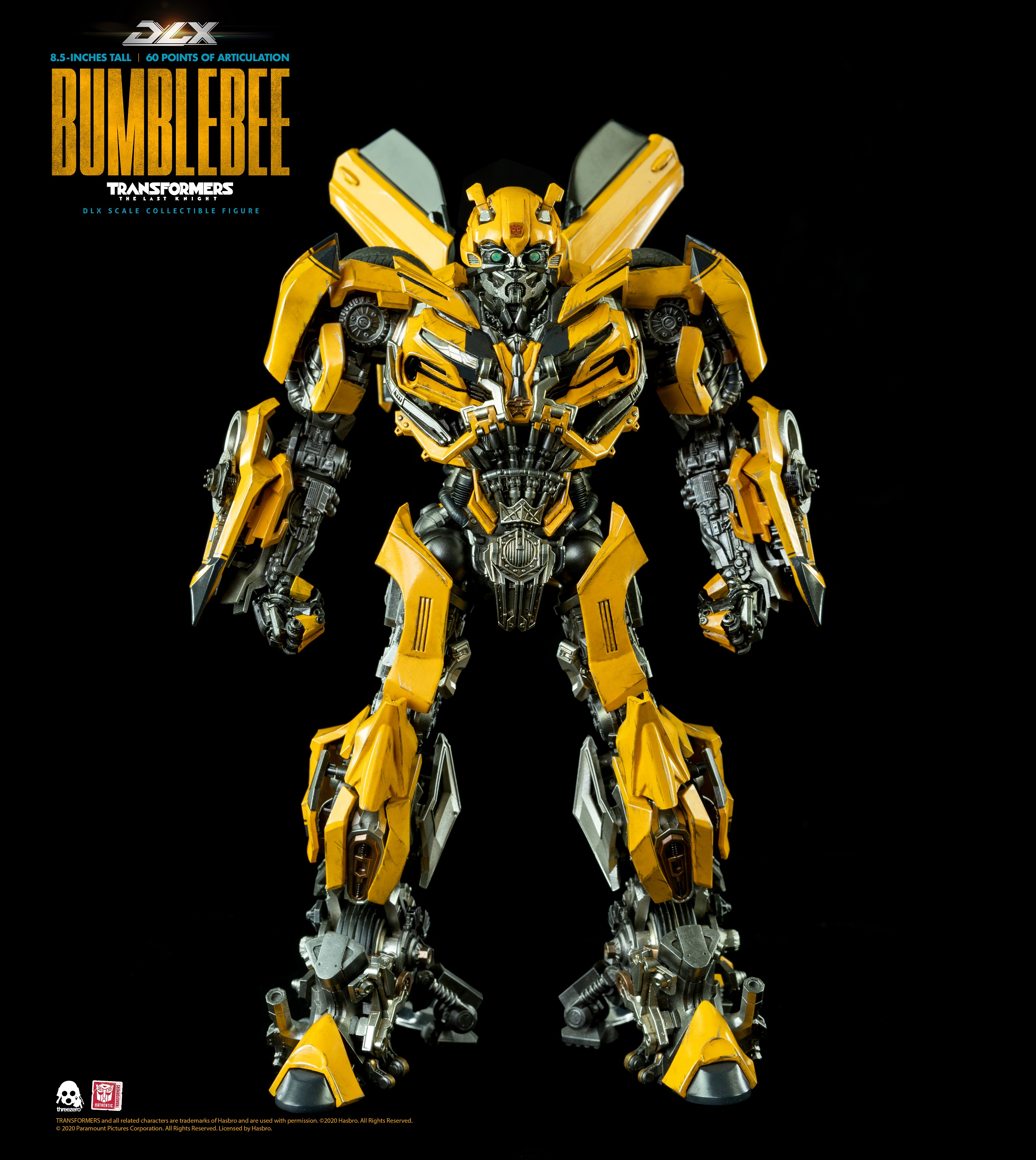 ThreeZero - Bumblebee - Transformers: The last knight - DLX Scale |  Transformers | 3Zero / 3A