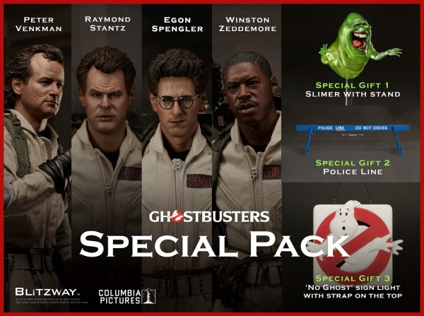 Blitzway - Special Pack - Ghostbusters 1984