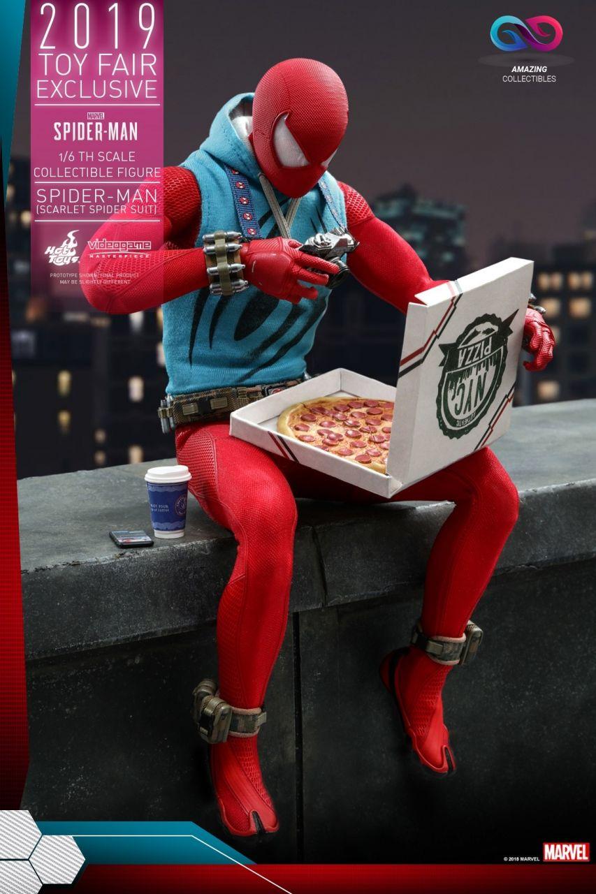 Hot Toys - Spiderman (Scarlet Spider Suit) - Toy Fair Exclusiv 2019 - Marvel Spiderman