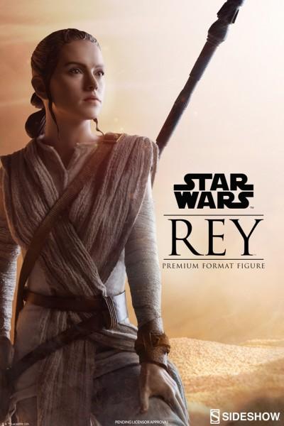 Sideshow - Rey - Premium Format Statue - Star Wars