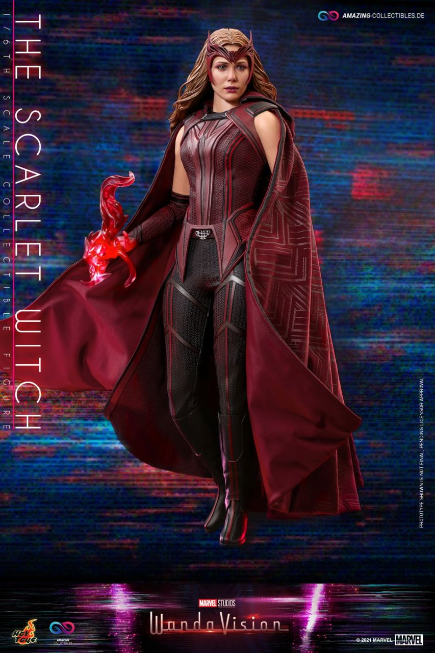 Hot Toys - The Scarlet Witch - TMS036 - WandaVision