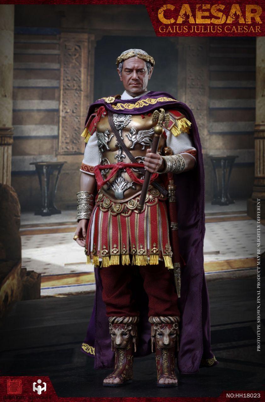 HHmodel x Haoyu Toys - Gaius Julius Caesar - Single Version - Imperial Army - HH18023