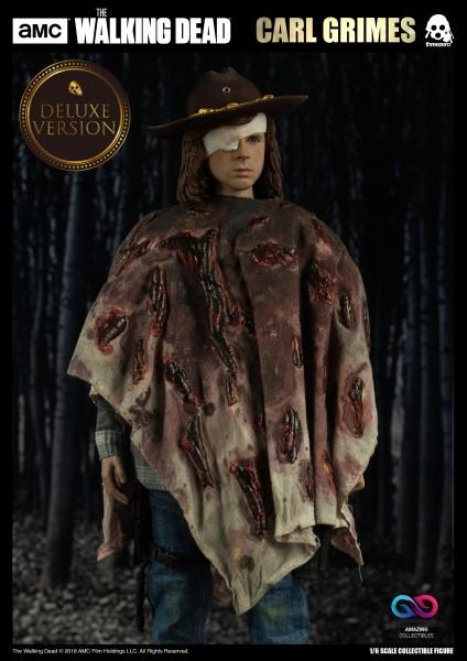 ThreeZero - Carl Grimes DX Version- The Walking Dead