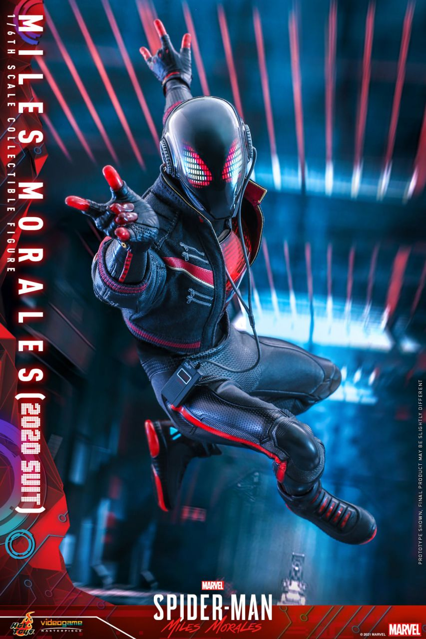 Hot Toys - Miles Morales - 2020 Suit - Marvel`s Spiderman: Miles Morales