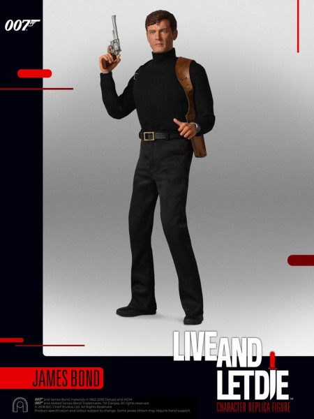 Big Chief Studios - James Bond - Roger Moore - Live and let die