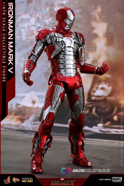 Hot Toys - Mark V Diecast - Iron Man 2