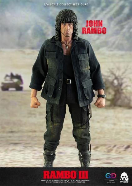 ThreeZero - John Rambo - Rambo III