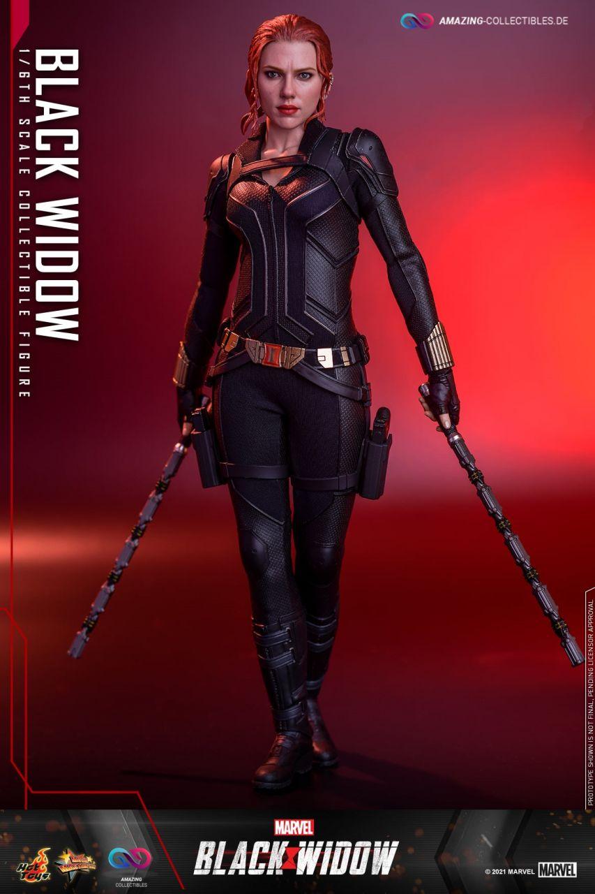 Hot Toys - Black Widow - (Black Suit) - MMS603 - Black Widow