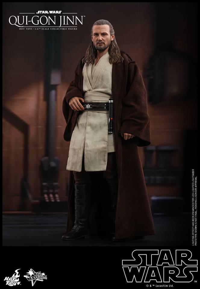 Hot Toys - Qui-Gon Jinn - Star Wars: Die dunkle Bedrohung