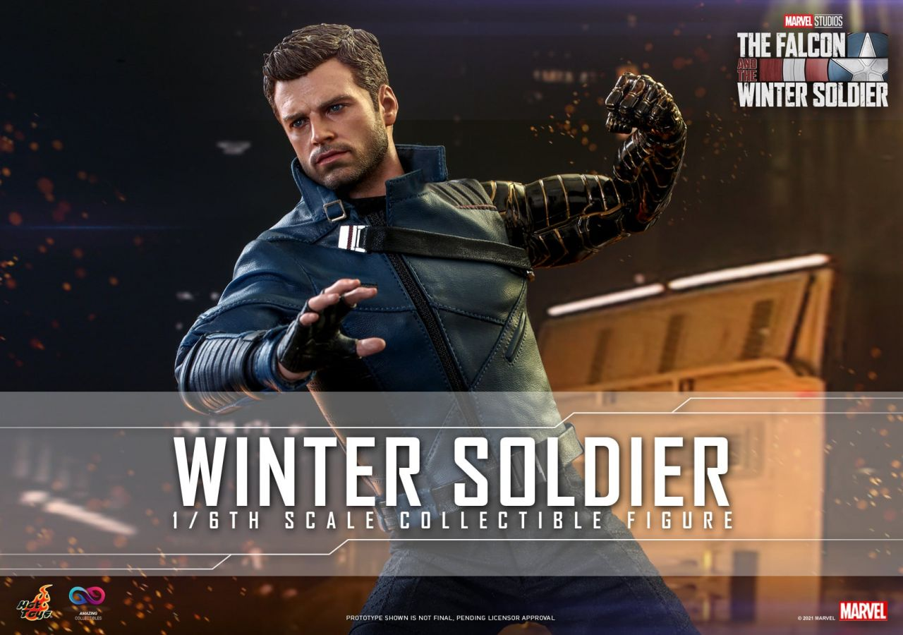 Hot Toys - Winter Soldier - TMS039 - The Falcon and the Wintersoldier