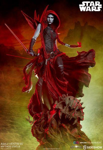 Sideshow - Asajj Ventress - Mythos Reihe - Statue - Star Wars