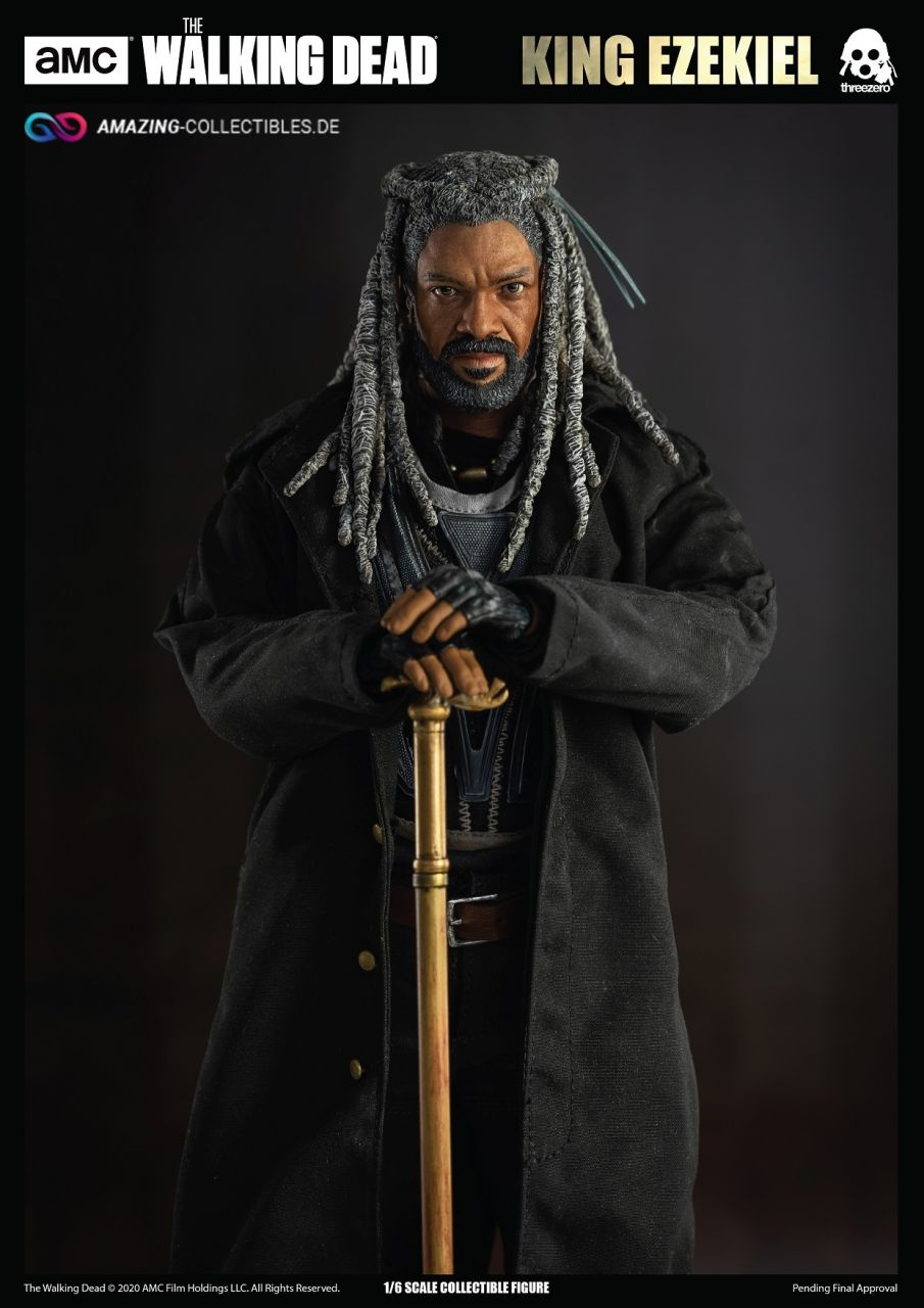 ThreeZero - King Ezekiel - The Walking Dead