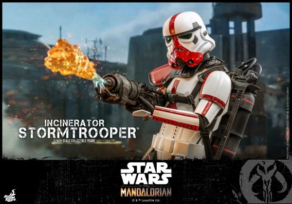 Hot Toys - Incinerator Stormtrooper (Fire Trooper) - Star Wars: The Mandalorian