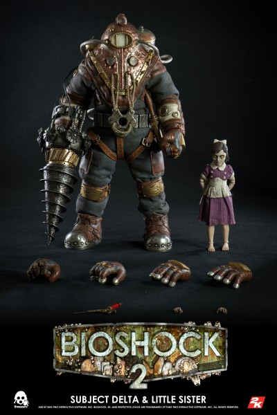 ThreeZero - Subject Delta & Little Sister - Bioshock