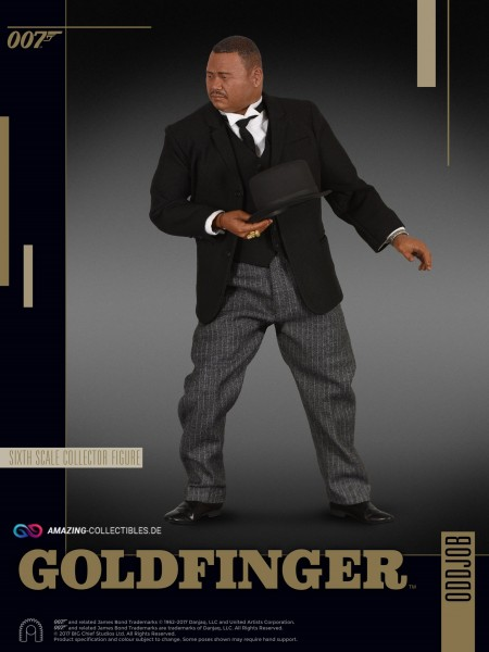 Big Chief Studios - Oddjob - James Bond Goldfinger