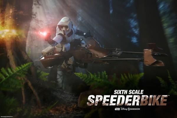 Sideshow - Speeder Bike - Star Wars - Rückkehr der Jedi Ritter