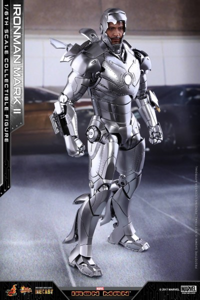 Hot Toys - Iron Man - Mark II - Diecast - Review Sample