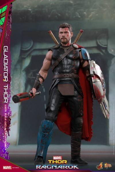Hot Toys - Gladiator Thor - Thor Ragnarok - Normale Version