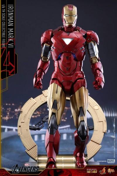 Hot Toys - Iron Man Mark VI- Diecast- Avengers- 1/6