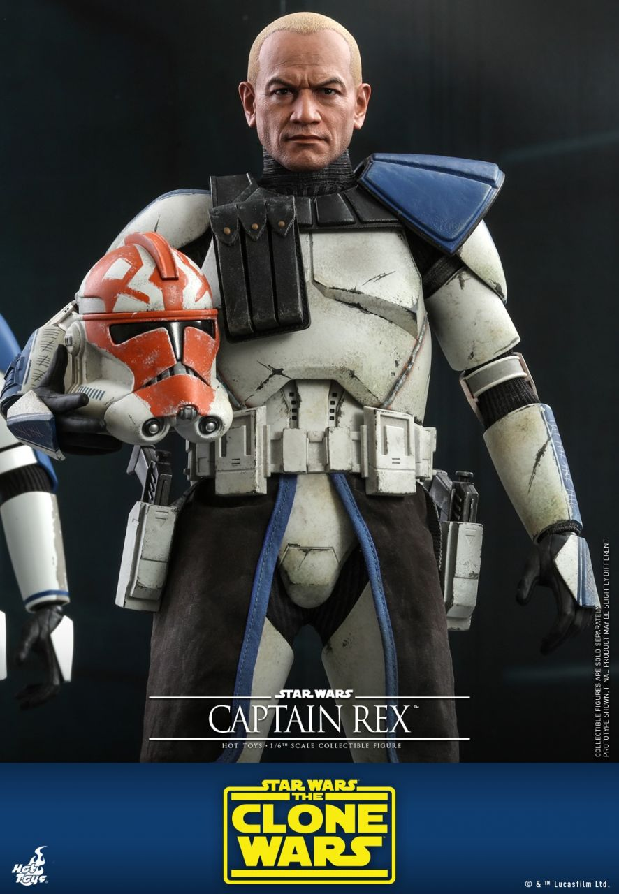 Hot Toys - Captain Rex - Star Wars: The Clone Wars