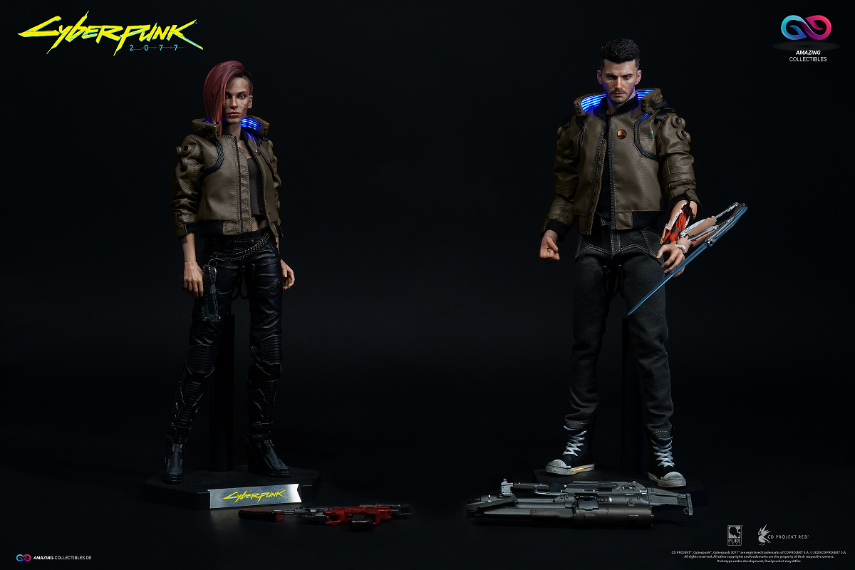 PureArts - V Male + V Female + Sportsbike - Ultimate Bundle - Cyberpunk 2077 - CD Projekt Red