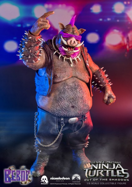 ThreeZero - Bebop- Teenage Mutant Ninja Turtles- Out of the Shadows 1/6
