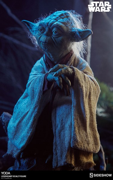 Sideshow - Yoda - Star Wars - Legendary Scale Figure