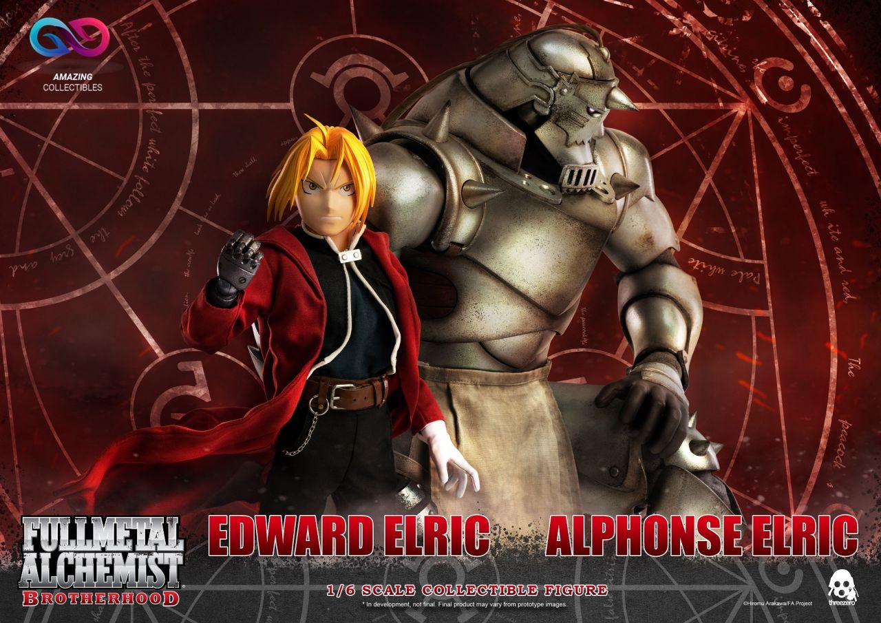 ThreeZero - Alphonse Elric & Edward Elric - Twin Pack - Fullmetal Alchemist: Brotherhood