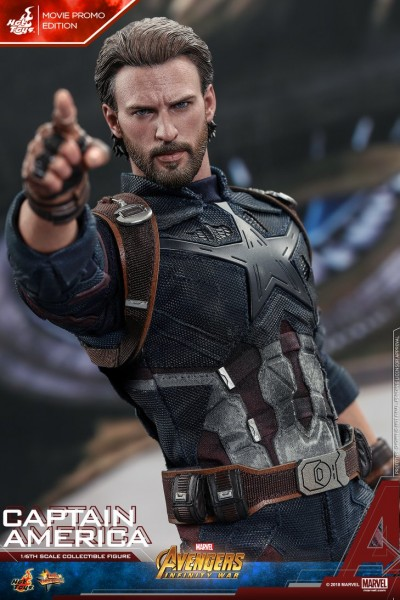 Hot Toys - Captain America - Movie Promo Version - Avengers:Infinity War