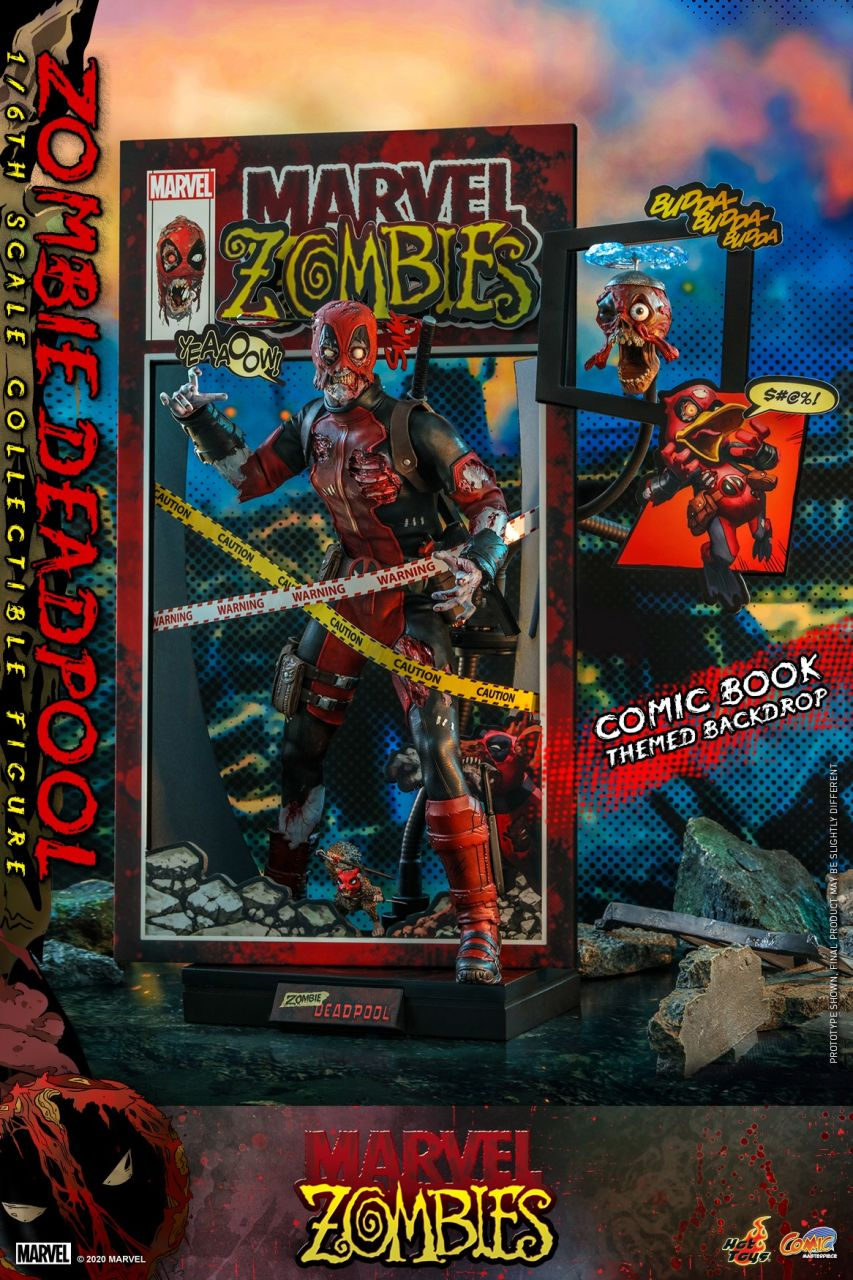 Hot Toys - Zombie Deadpool - Marvel Zombies