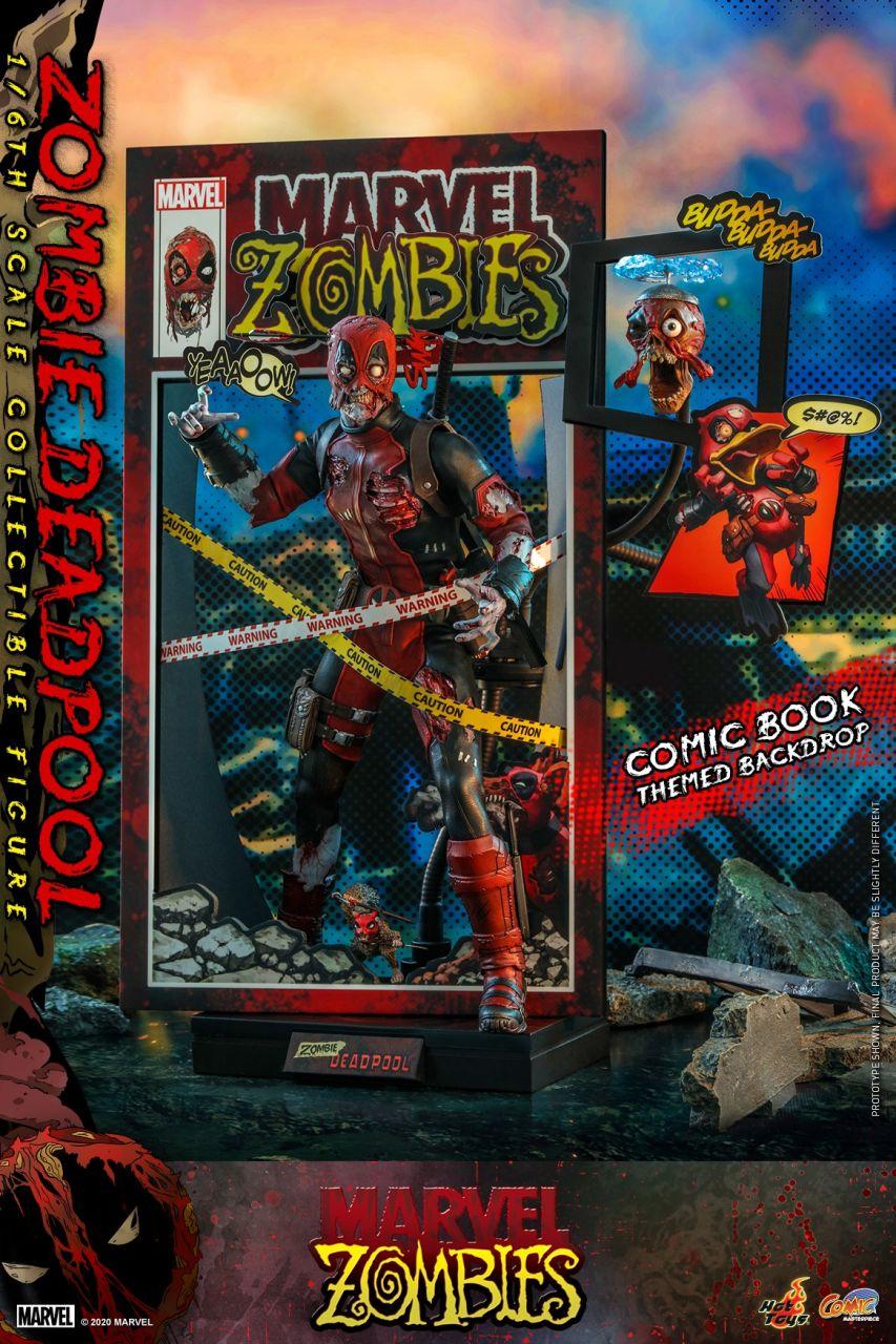 Hot Toys - Zombie Deadpool - Marvel Zombies