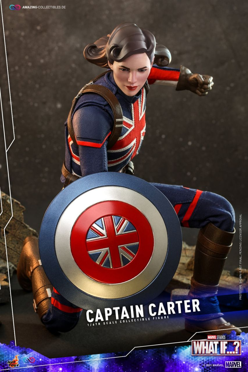 Hot Toys - Captain Peggy Carter - TMS059 - What If...?