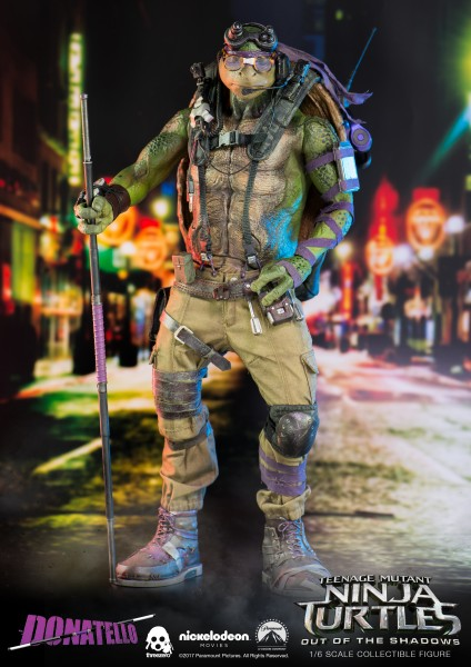 ThreeZero - Donatello - Teenage Mutant Ninja Turtles - Out of the shadows