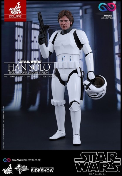 Hot Toys - Han Solo - Disguise Version - Star Wars